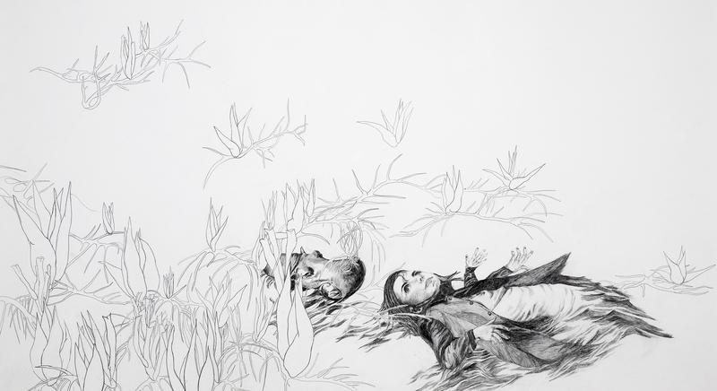Zeichnung von Uta Siebert