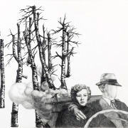 """Zeichnung """"Safari"""" von Uta Siebert"""