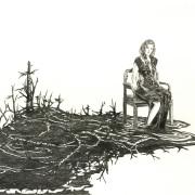 """Zeichnung """"Schlicker"""" von Uta Siebert"""