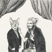 Zeichnung Auftritt (Peripherie)