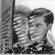 Zeichnung Paar (Peripherie)
